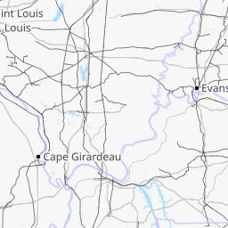 St Peters Missouri Map.Missouri Railroads Openstreetmap Wiki
